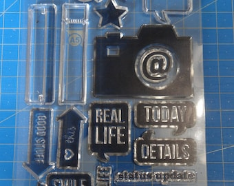 Clear stamp unmounted clear - pictures
