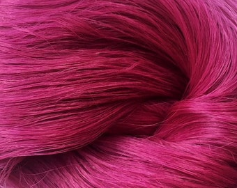 PREORDER LARGE Heliotrope  Saran Doll Hair for OOAK, Custom Monster High, My Little Pony, Blythe