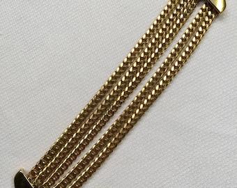 Vintage Monet Chain Bracelet
