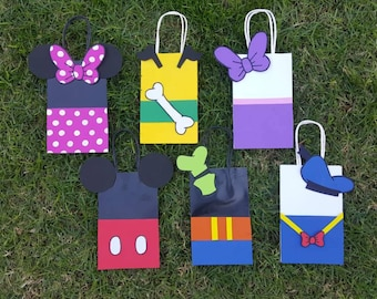 Mickey Mouse Club House Character Goodie Bags