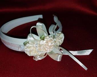 Blushing Bride elegant head band