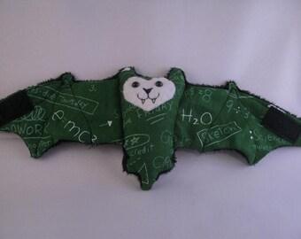 Chalkboard Bat Cup Sleeve/Coffee Cozie/Stuffed Animal