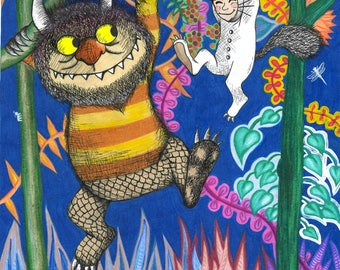 Where the Wild Things Are Original Art Download