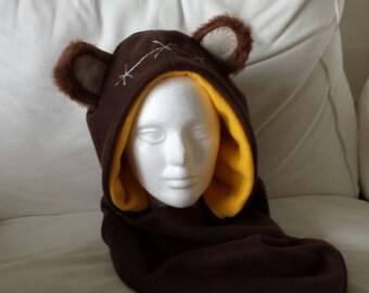 Custom made Ewok hood