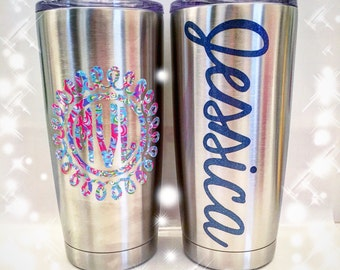 Personalized Stainless Steel Tumbler 20 oz
