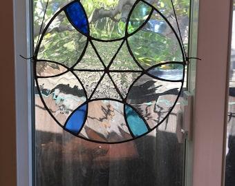 Round suncatcher window hanging