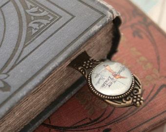 Bookmark Custom Map Bookmark Personalized Gifts for Readers Personalized Book Mark Gifts for Teacher Metal Bookmark with Custom Map