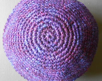 Merino Wool Kippah / Crocheted / Yarmulke for Men / Free US Shipping