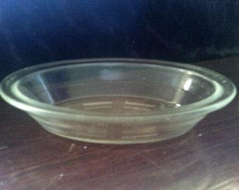 Vintage Agee Pyrex D140 / 401 Single Serve Pie /Quiche Plate