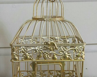 Small DIY Birdcage- Wedding card holder