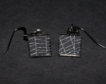 Spider-web Earrings