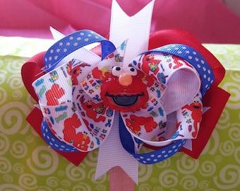 Sesame Street Elmo Hair Bow
