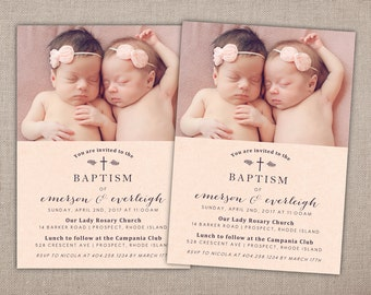 twin baptism invitations elita aisushi co