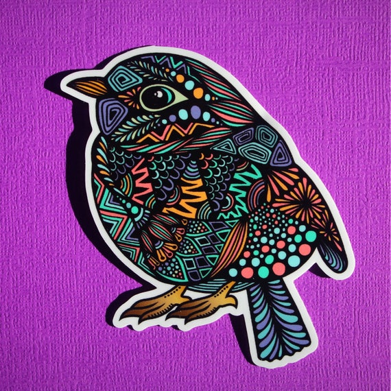 Bird Sticker (WATERPROOF)