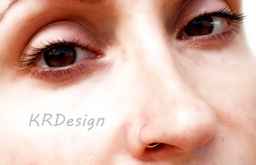 14K Rose Gold FilledSolid GoldNose