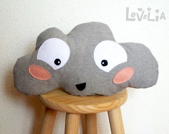 Cloud Pillow - Stormy-