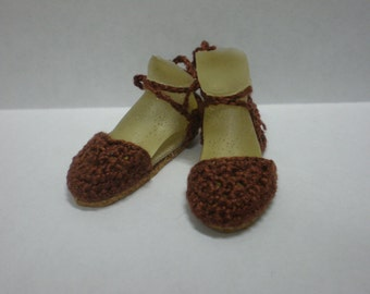Enchanted Doll Espadrilles in Brown