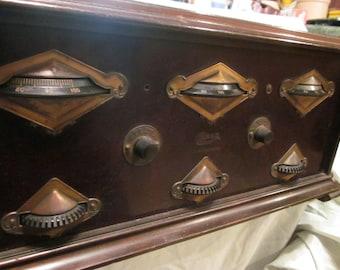 PRICE REDUCED   1926 Grebe Radio and Atwater Kent E3 Radio Speaker