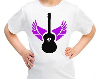 Peace Guitar Tee/Grow