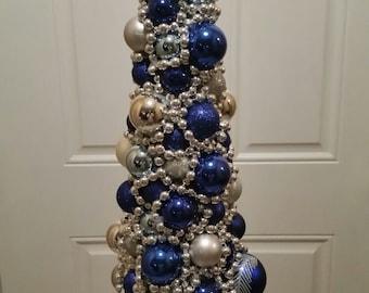 Christmas Tree Centerpiece with Lights