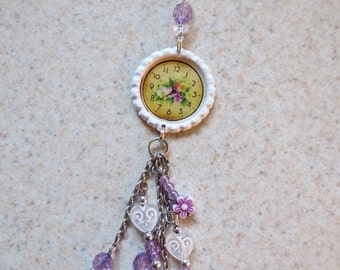 Beaded Journal / Purse Dangly Charm