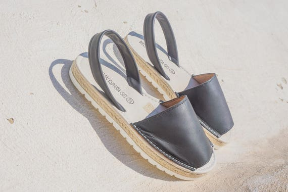 sandals Handmade Spain sandals Handmade Espadrilles in Avarcas Menorquinas sandals style Mediterranean Sandals leather Espadrilles zzgqfT