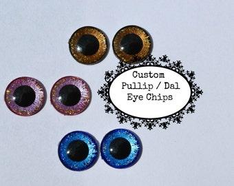 Pullip/Dal Custom Eye Chips Hand Made One of a Kind