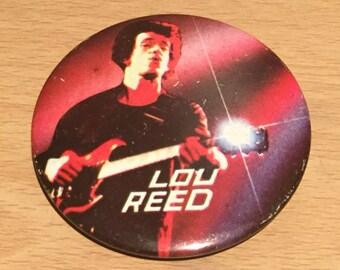 Vintage Lou Reed Badge