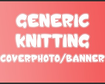 Generic Knitting Shop Cover photo/Banner