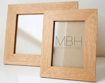 Wood Picture Frame, New Picture Frame, Picture Frames, Photo Frame, Wooden Photo Frames, Handmade Picture Frames – 5x7 & 8x10 Picture Frames