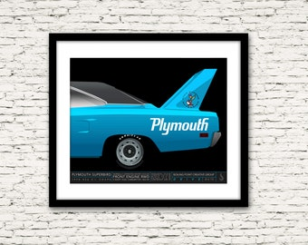 Drive Signature Series Poster 9 Plymouth Superbird