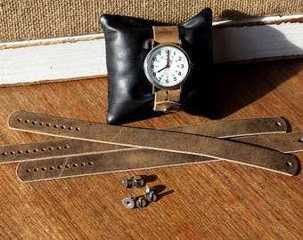 Leather watch strap for Timex Weekender - Folklore Vintage