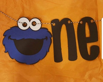 One Banner: Cookie Monster or Customized