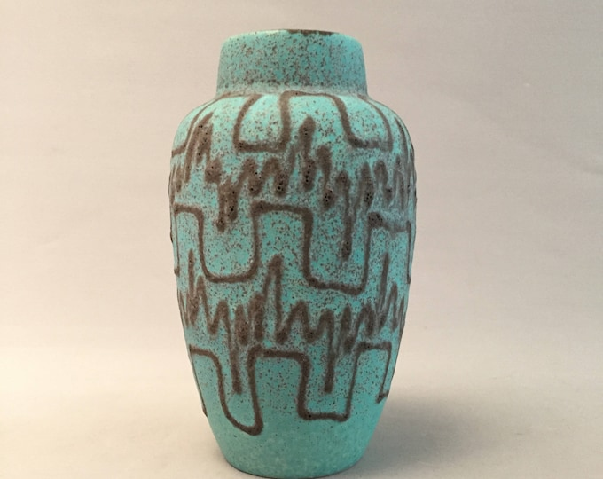 West German ceramic vase