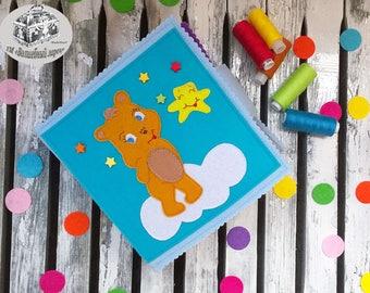 Quiet book for children 6 months - 1 years