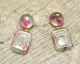 Cute Date look earrings