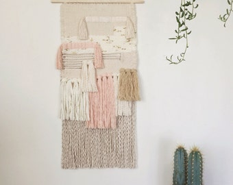 sophie / hand woven wall hanging