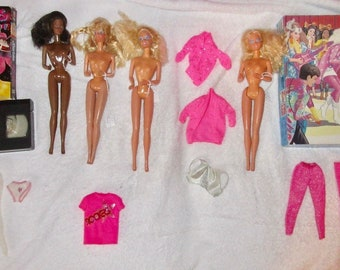 1986 1987 Barbie Rockers dolls items