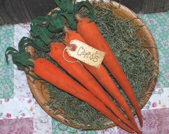 EPATTERN -- Primitive Spring Carrots Tucks Ornies Bowl Fillers