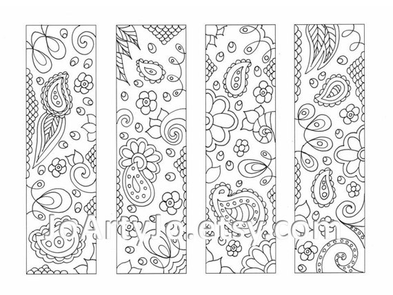 coloring pages of bookmarks - photo#6
