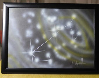 SAGITTARIUS (3) | Astrological Constellation | Painting