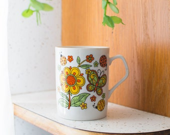 Butterflies & Lady Bugs Mug