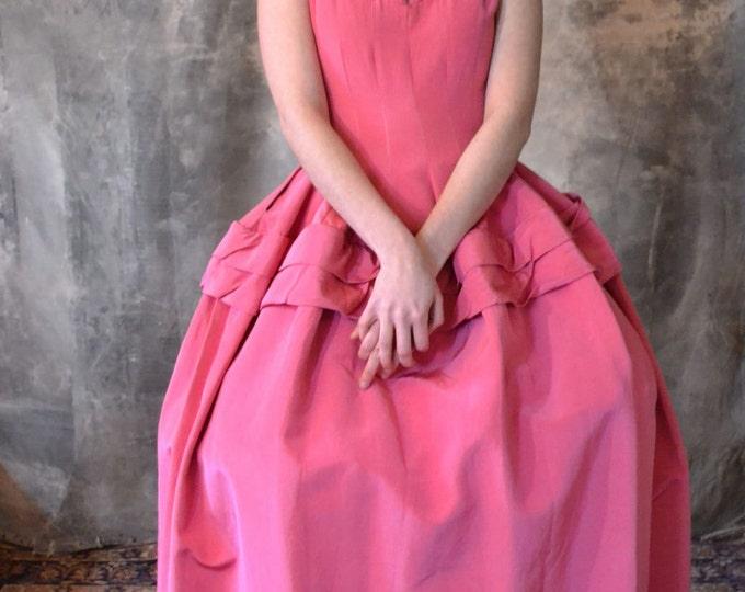 Rose-Colored Costume Hoop Dress