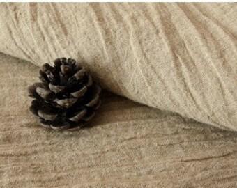 Cotton Linen Fabric Cloth -DIY Cloth Art Manual Cloth -Plain Fold Fabric 47 x19 Inches