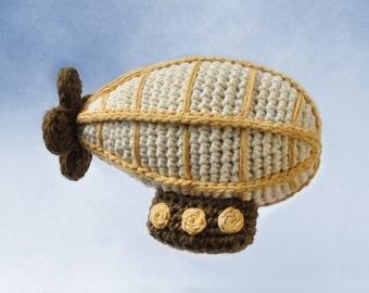 Crocheted Airship Pattern PDF