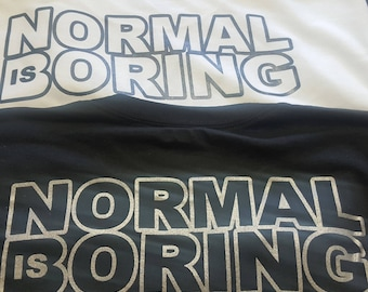 Horus eye Tshirt / normal is boring