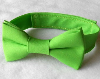 Apple Green Bowtie - Infant, Toddler, Boy           2 weeks before shipping