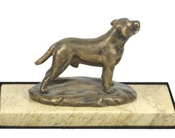 Labrador Retriever, dog marble base statue, limited edition, ArtDog