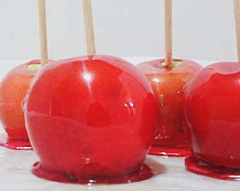 Homemade Candy Apples