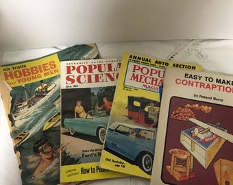 Vintage (Men themed) magazines